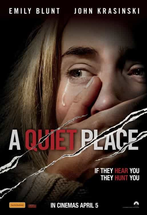 US Box Office Weekend 20 - 22 April 2018:  A Quiet Place goes back to top in very tight chart race