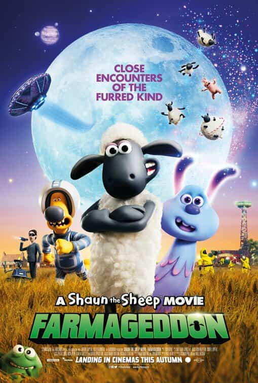 A Shaun The Sheep Movie: Farmageddon is given a U age rating in the UK for very mild threat, language, rude humour