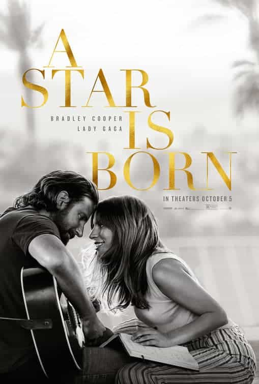 UK Box Office Weekend 12th - 14th October 2018:  A Star Is Born takes over from Venom at the top with a 3 million pound second weekend