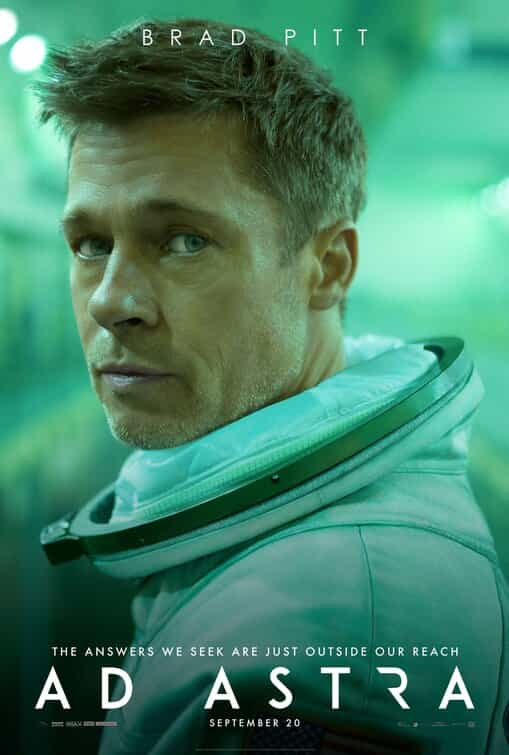 Starring Brad Pitt Ad Astra gets a new trailer - film released in the UK on September 18th