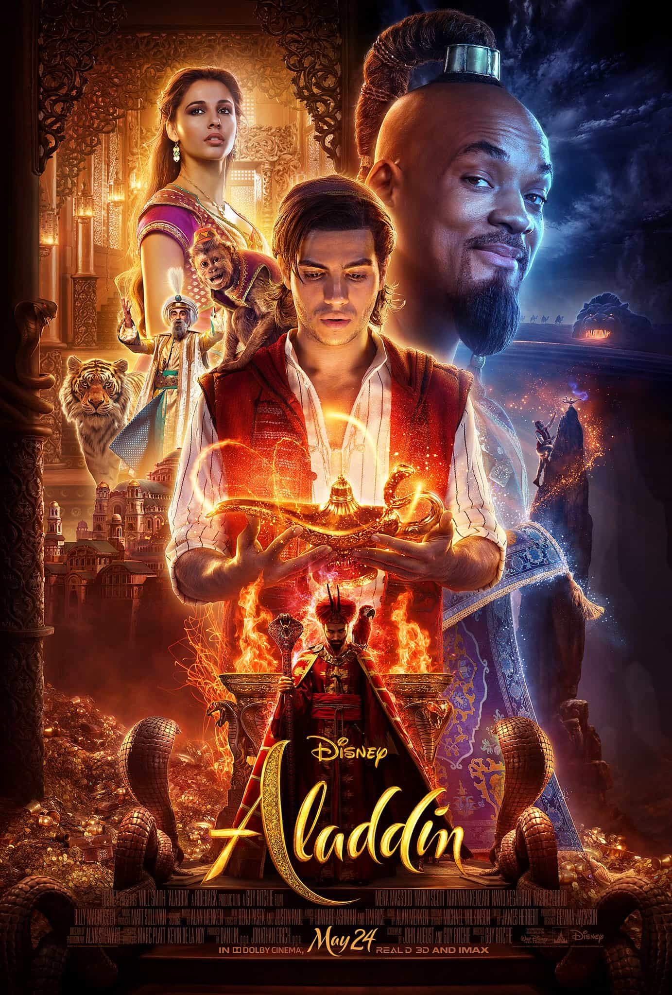 First look at the live action Aladdin from Disney