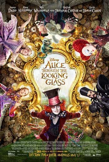 UK Home Video Charts Weekending 9 October 2016:  Alice takes over from Cap America at the top