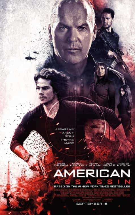 US Box Office Weekend 15th September 2017:  IT still dominating with massive $60 million second weekend, American Assassin beats Mother to top new film