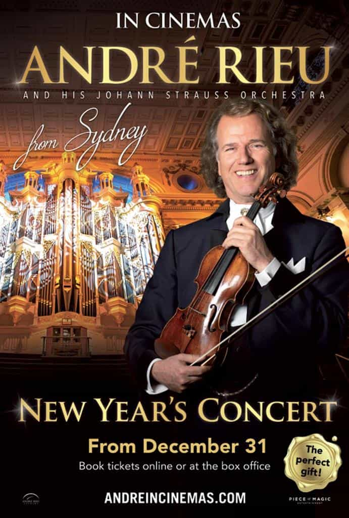 André Rieu's 2019 Live New Year Concert From Sydney