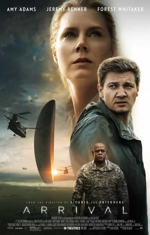 UK Box Office Weekend 11 November 2016:  Arrival makes its debut at the top