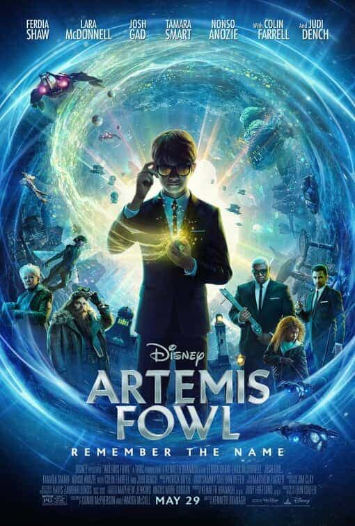 Artemis Fowl from Disney gets moved from a theatrical release to Disney+