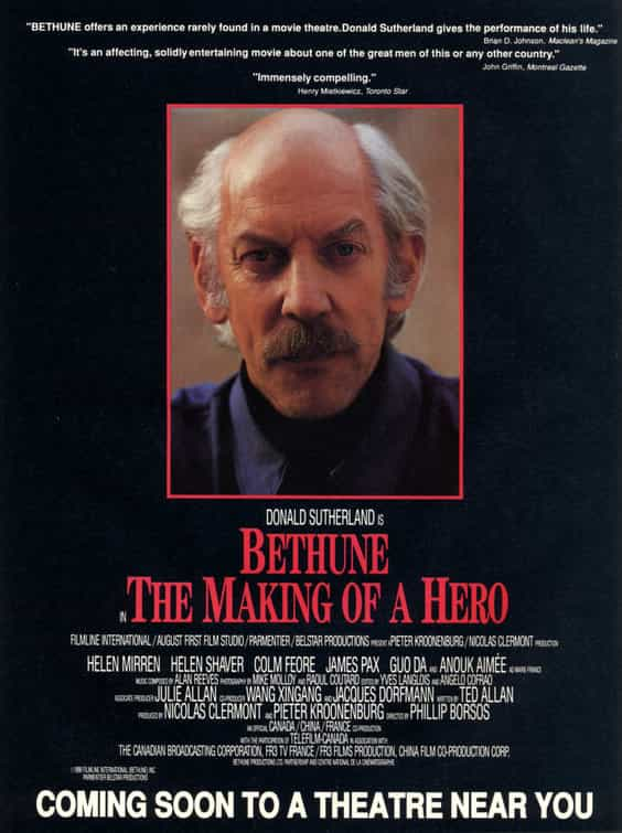Bethune The Making Of A Hero