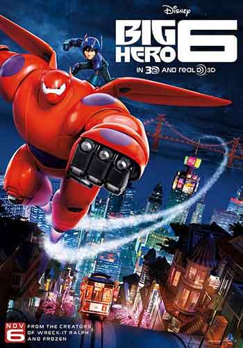 UK box office chart 30th January 2015: Disney score big with Big Hero 6