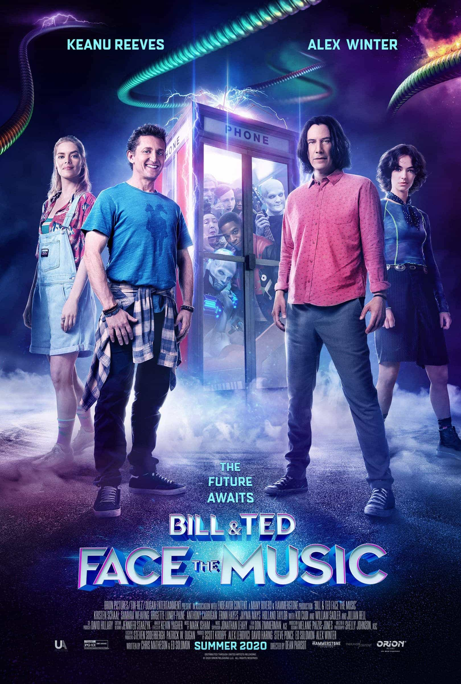 New UK movie releases, Weekend Friday 18th September 2020:  With Tenet remaining at the top can Bill And Ted replace them on their debut