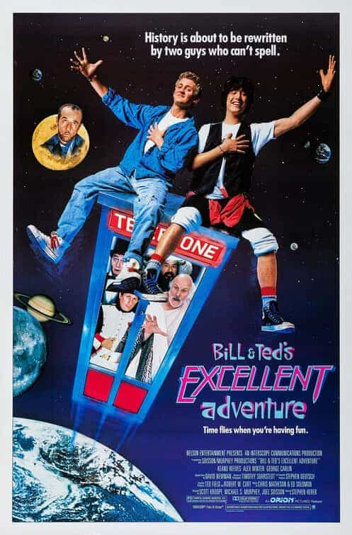 Historical UK Box Office - Bill And Teds Excellent Adventure (1990), Fast And Furious 7 (2015) and Erin Brockovich (2000)