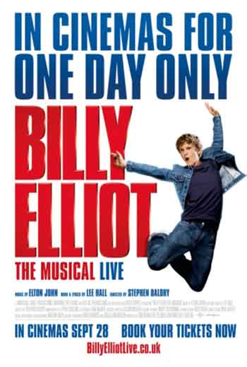 UK box office analysis 26th September 2014:  Event cinema hits the top with Billy Elliot