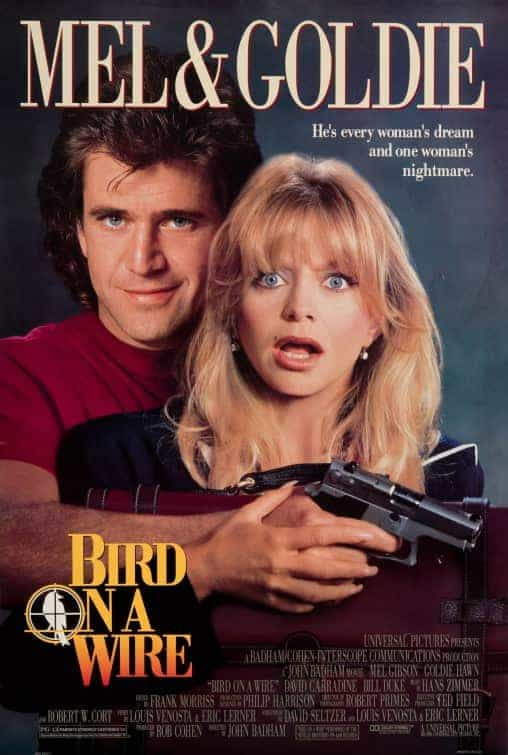 Historical UK Box Office Second Half of October - Bird On A Wire hit UK cinemas 30 years ago