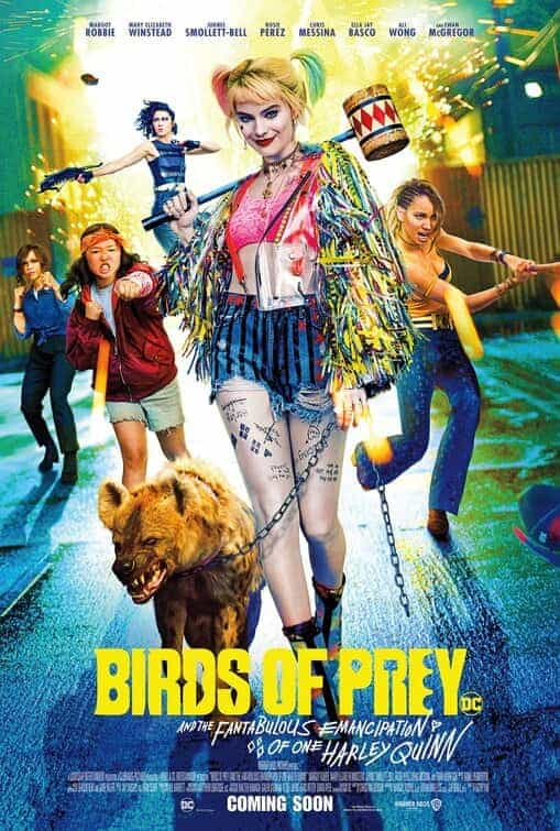 UK box office preview for weekend Friday, 7th February 2020 -  Birds Of Prey (And The Fantabulous Emancipation Of One Harley Quinn), Dolittle, Parasite and Underwater