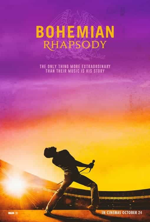 UK Box Office Analysis Weekend 2nd - 4th November 2018:  Bohemian Rhapsody stays top with a 5 million pound second weekend