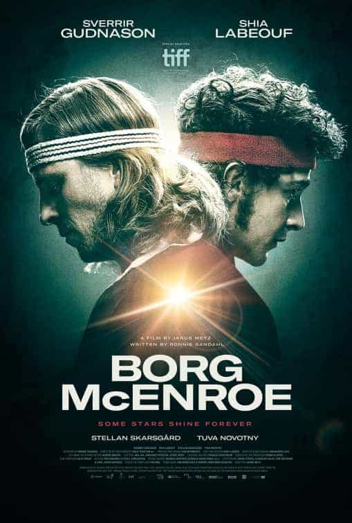 Trailer for Borg Vs Mcenroe starring Shia LeBeouf and Sverrir Gudnason