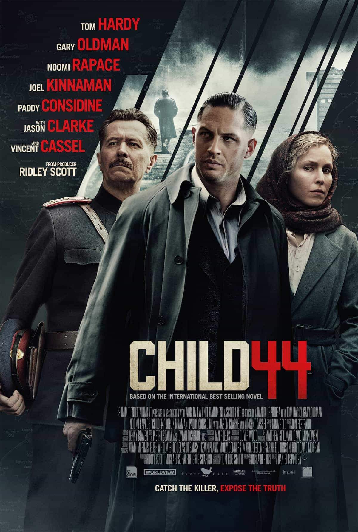UK Box Office Chart Report 17th April 2015:  Furious 7 makes it 3 while Child 44 is the top new film