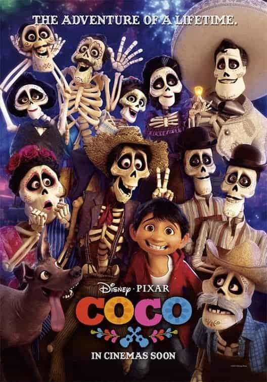 UK Box Office 19th - 22nd January 2018:  Coco goes to the top on its debut
