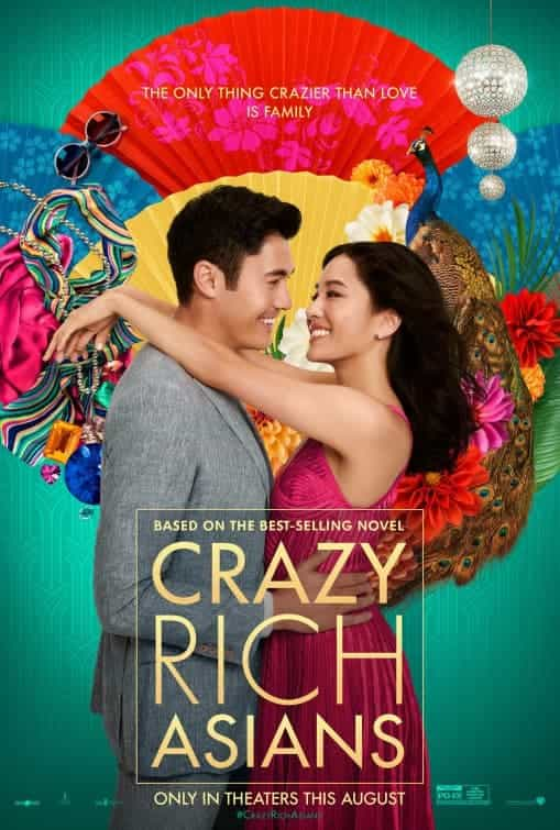 US Box Office Weekend 17 - 19 August 2018:  Rich and Crazy Asians storm the top of the box office