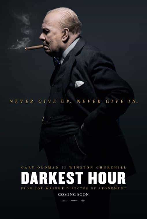 UK Box Office Charts Weekend 26th - 28th January:  Darkest Hour goes back to the top