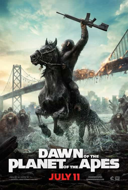 See what happens between Rise and Dawn of the Planet of the Apes in this new video, Dawn of the Planet of the Apes hits cinemas on 17th July