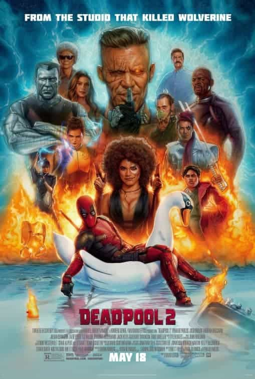 Trailer, sort of, with footage of Deadpool 2