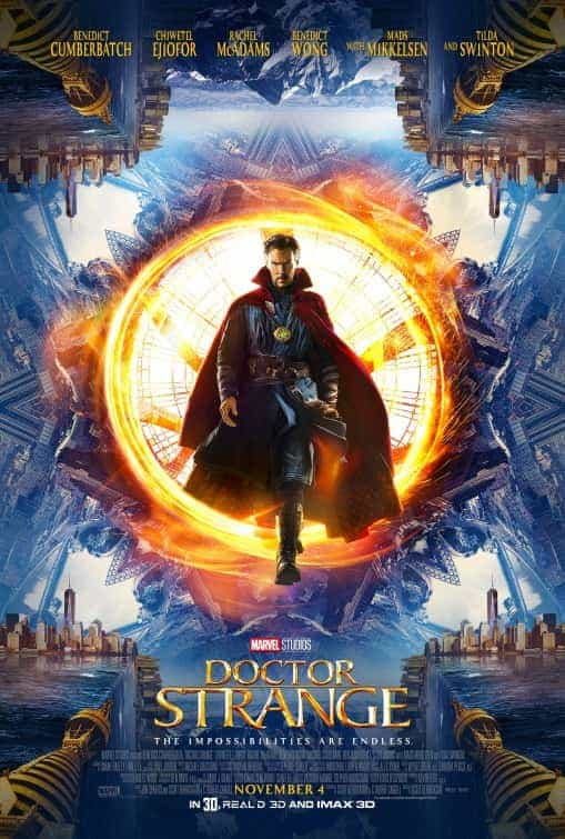 From Comic Con comes a new trailer for Doctor Strange