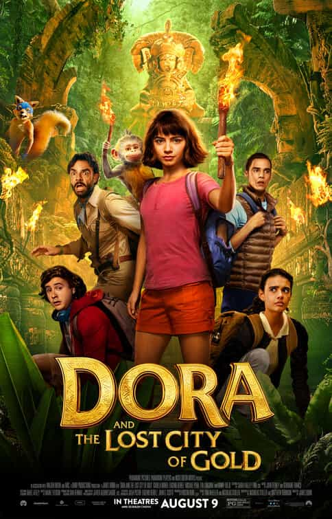 Dora And The Lost City of Gold is given a PG age rating in the UK for mild threat, rude humour