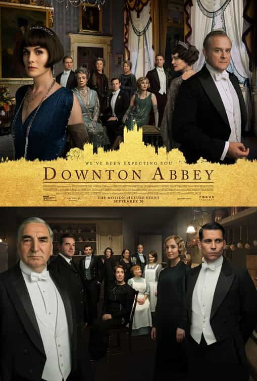 Downton Abbey is given a PG age rating for mild threat, language