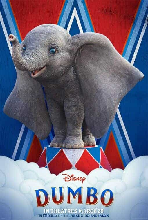 First trailer for Disneys Tim Burton directed Dumbo