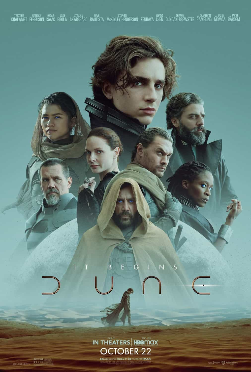 First trailer for Denis Villeneuve version of Dune - released 18th December in the UK and US