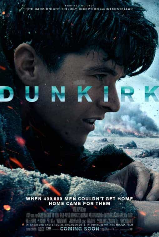 UK Summer Box Office:  Dunkirk from director Christopher Nolan is the top film of summer 2017 in the UK