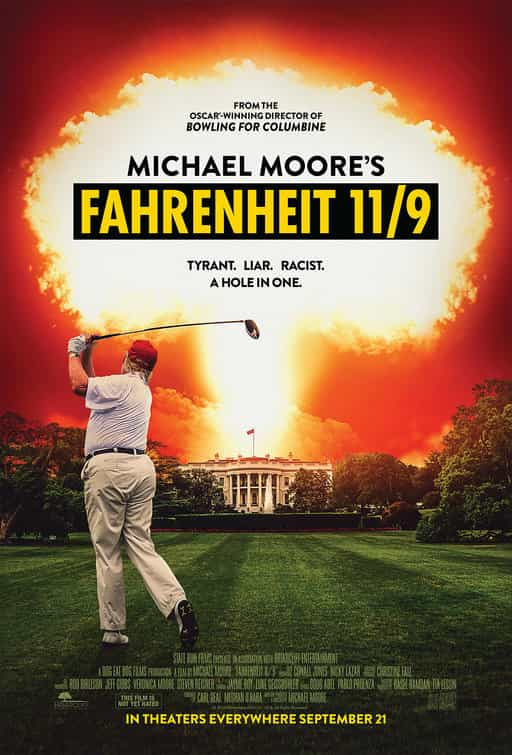 Fahrenheit 11/9 gets a 15 certificate for strong language, disturbing images, racist behaviour