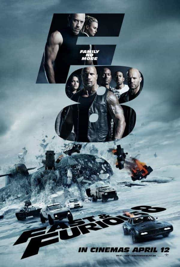 Fist trailer for (UK name) Fast and Furious 8
