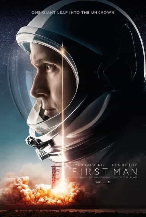 First Man gets a 12A rating in the UK for infrequent strong language, moderate threat
