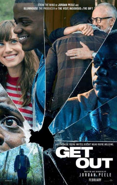 US Box Office Weekend 24th February 2017:  Horror film Get Out makes its debut at the top of the chart