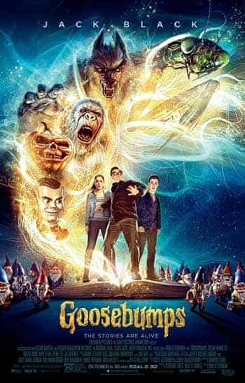 UK Video Chart Weekending 5 June 2016:  Goosebumps scare their way to the top