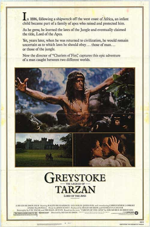 Greystoke: The Legend Of Tarzan - Lord Of The Apes