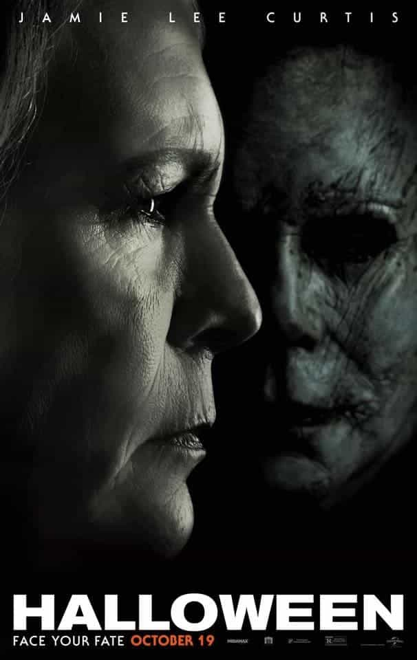 US Box Office Weekend 26 - 28 October 2018:  Halloween stays at the top for a second weekend with little movement in the top 5