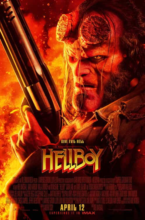 Hellboy (2019) is given a 15 certificate for strong bloody violence, gore, language