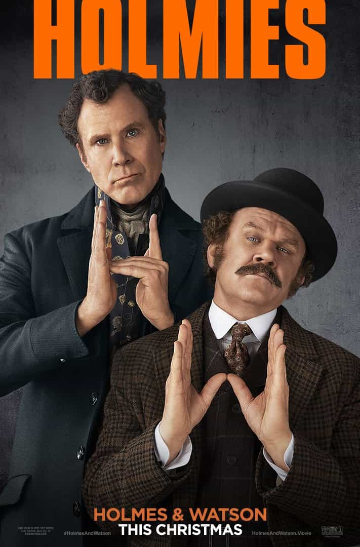 Holmes And Watson is given a 12A rating for moderate sex references, drug references, infrequent strong language