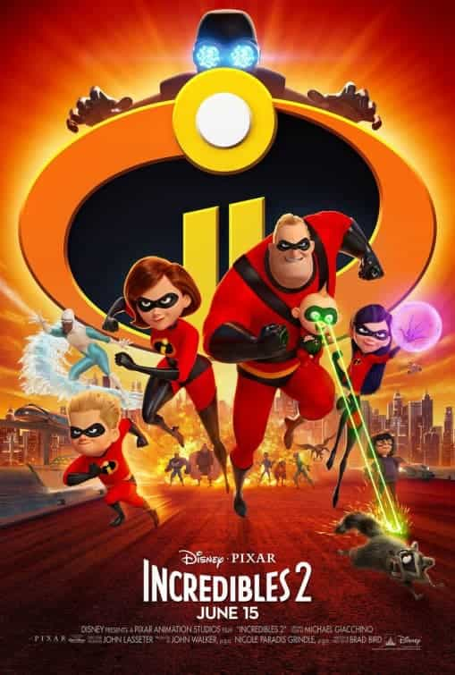 New sneak peak of Incredibles 2, film due for release in the UK 13th July 2018