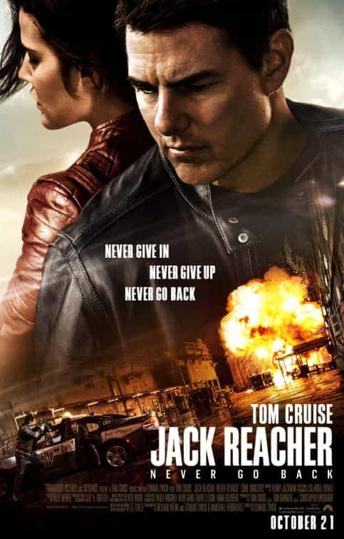 World Box Office Weekending 23 October 2016:  Jack Reacher is top of the world