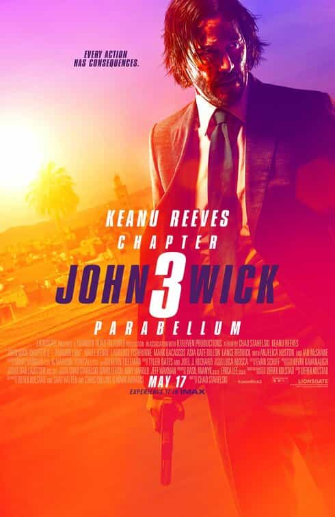 US Box Office Analysis 17 - 19 May 2019:  John Wick 3 knocks the mighty Avengers from the top of the US box office