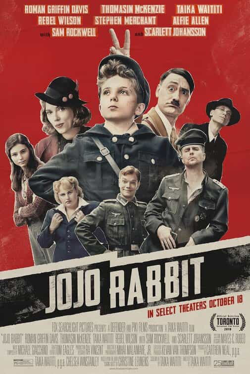 Jojo Rabbit has been given a 12A age rating in the UK for discrimination, violence, bloody images, sex references, strong language