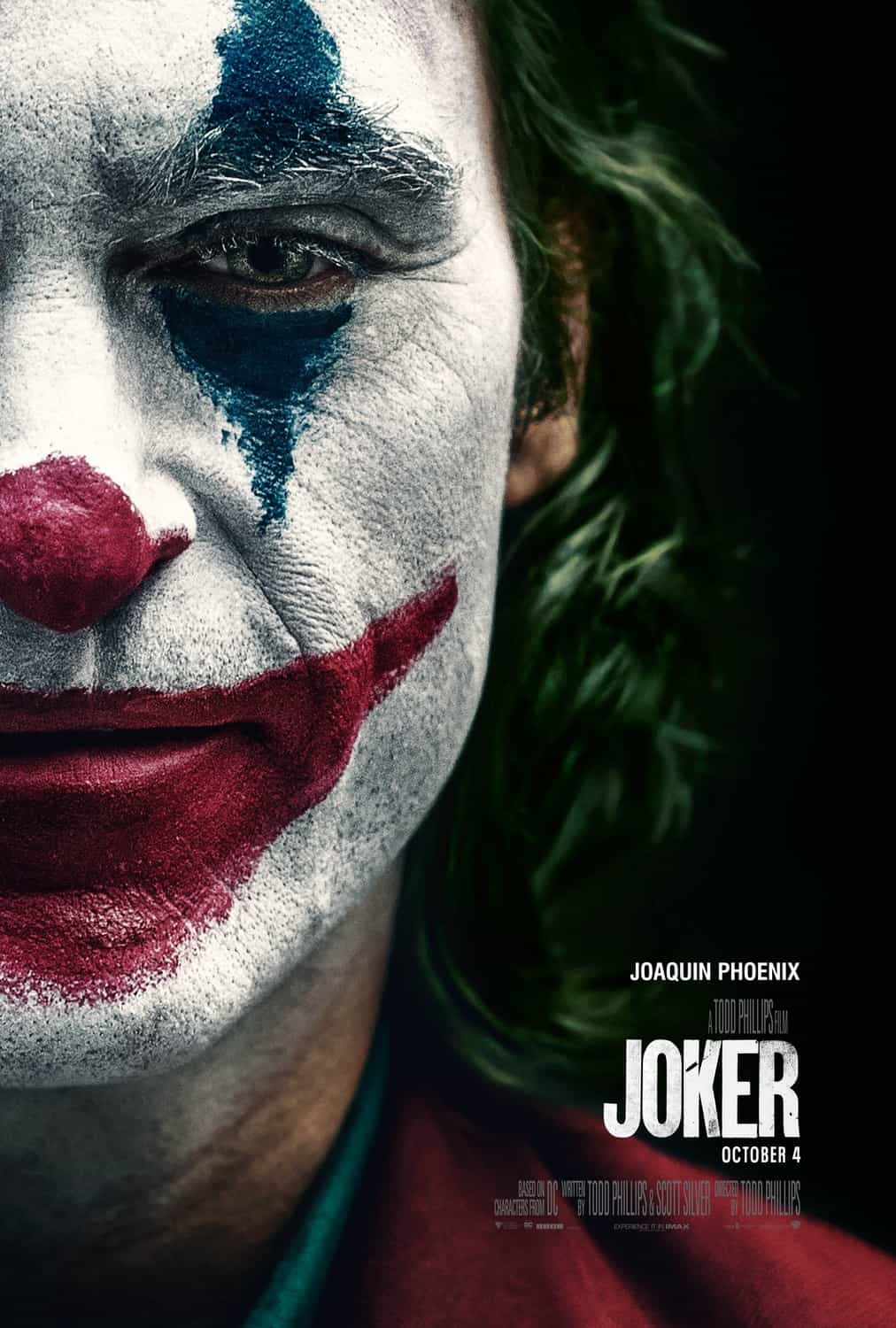 UK Box Office Analysis 4th - 6th October 2019:  Joker opens big in the UK with a 12 Million pound debut weekend while Judy settle for 2nd place