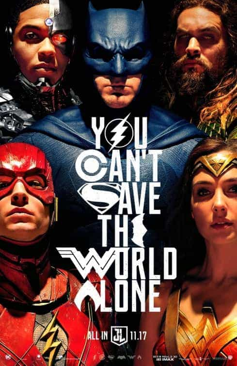 BBFC give Justice League a 12A rating for moderate fantasy violence
