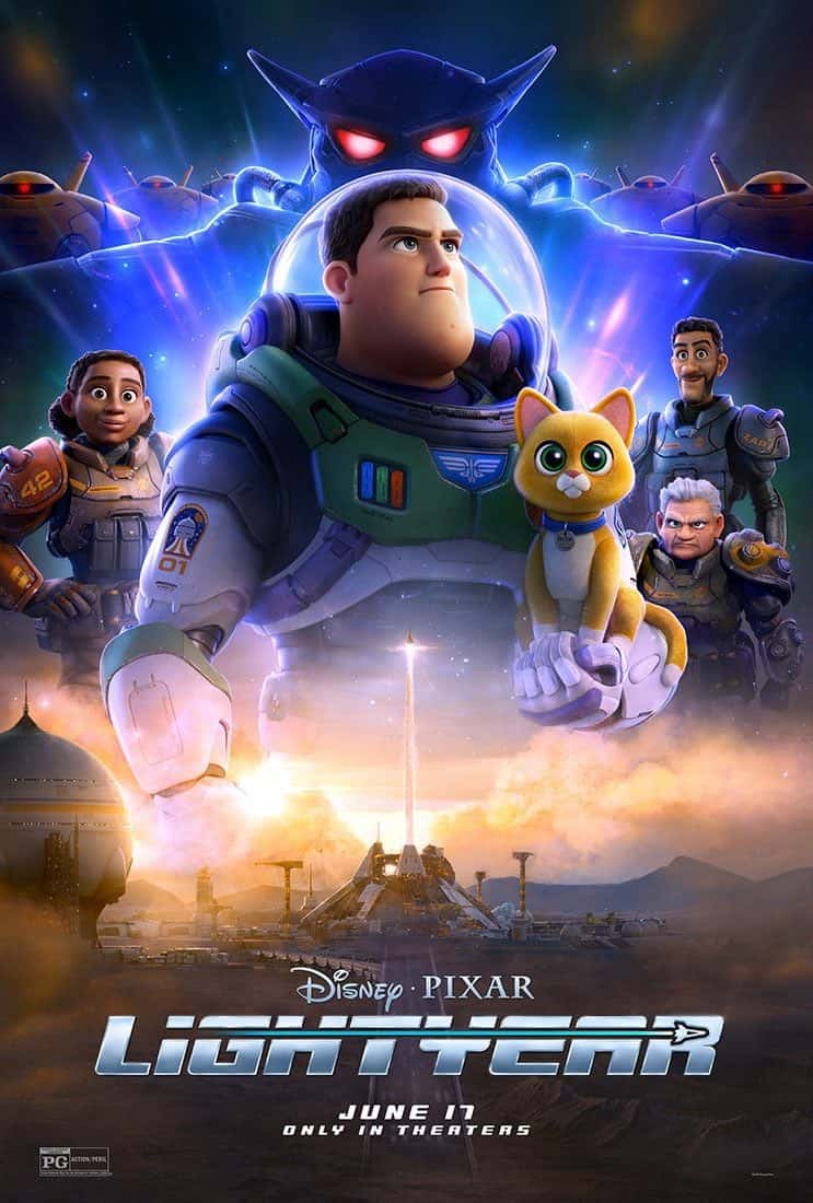 First trailer from the Pixar origin movie Lightyear - Chris Evans steps up as the young Space Ranger