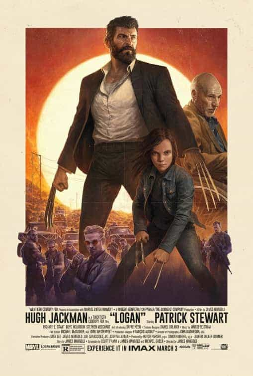 UK Box Office Weekend 3rd March 2017:  Logan tops the box office in the UK with an opening of over 9 million pound