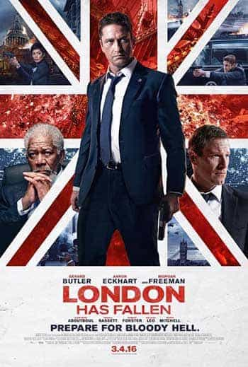 UK Video Charts Weekending 24 July 2016:  London Has Fallen debuts at the top