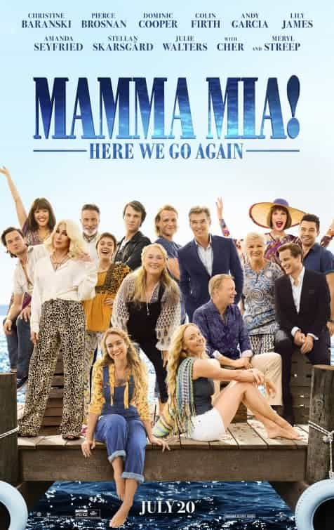 Final trailer for mamma Mia! Here We Go Again, more song and dance in the sun